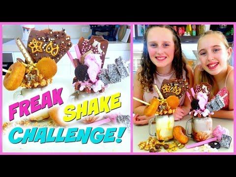 Freakshake Challenge! Extreme DIY Milkshakes