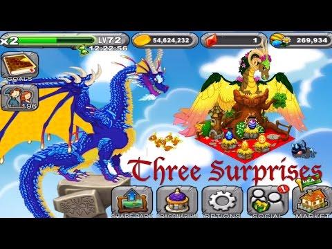 Quest for Gaia Dragon in DragonVale - Three Big Surprises