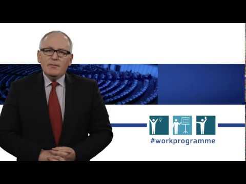 Work Programme 2015 explained