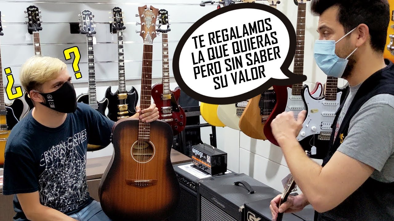 Elijo una Guitarra Guiándome sólo por mi Oído   ShaunTrack
