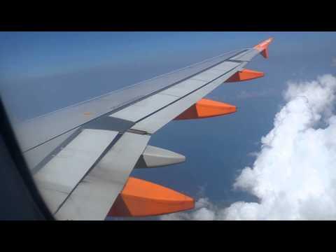 ONBOARD - EasyJet A320 Flight U21977 Manchester to Corfu (FULL FLIGHT)