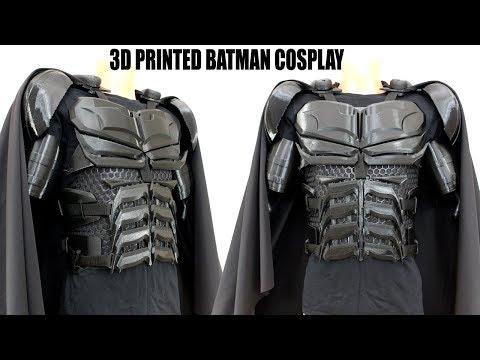3D Printed Batman Cosplay Suit #2 with Ninjaflex   XRobots