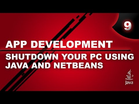 Shutdown, Restart & Logoff Your PC Using Java & Netbeans