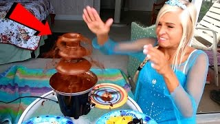 CHOCOLATE FOUNTAIN FAIL