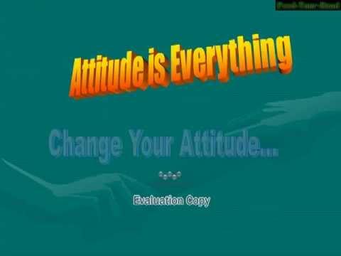 ppt slideshow Attitude-100