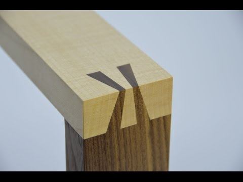 How to make a Japanese dovetail joint. By Theo Cook. Tutor at Robinson House Studio School