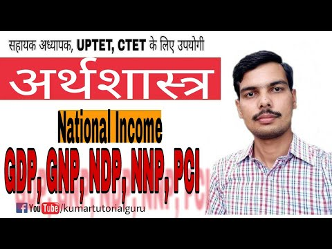 National income, GDP,GNP,NDP,NNP, PCI