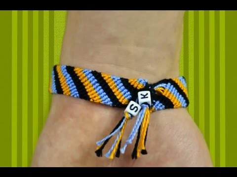 How to Make Cute Friendship Bracelets. Colorful Sweet Gift for Friends