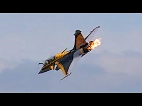 RC TURBINE JET CRASH !!! DASSAULT RAFALE RC JET WITH FIRE IN THE ENGINE TURBINE EXPLOSION !!!