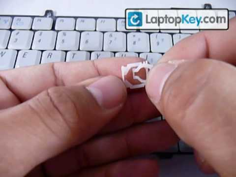 Dell Laptop Keyboard Keys Installation Guide, Replacement Repair Fix Broken Individual Key
