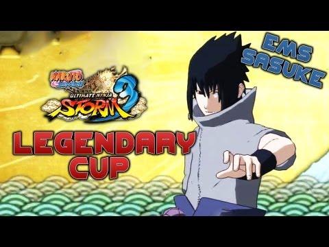 Naruto Shippuden: Ultimate Ninja Storm 3 - Legendary Cup (EMS Sasuke)