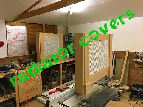 Making more radiator covers again!