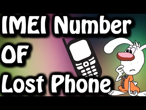 How to find IMEI Number of my Lost Android Phone .