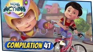VIR: The Robot Boy Cartoon In Hindi | Compilation 41 | Hindi Cartoons for Kids | Wow Kidz Action