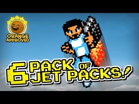 6 Pack of Jet Packs (Orange Approved!)
