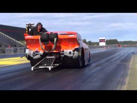 Mats Wicktor Pro Mod Test Run