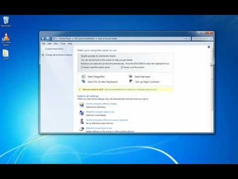 How to permanently turn off Sticky Keys in Windows 7 / XP