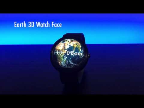 Earth 3D Watch Face for Android Wear
