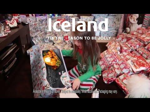 Iceland Christmas Advert 2017 - Luxury Gilded Turkey
