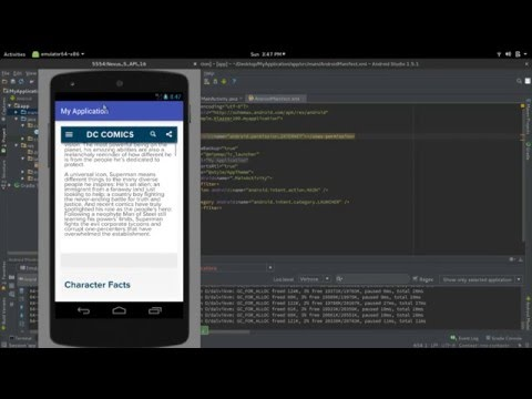 Create an App (In 8 Minutes ) for your Website  using Android webview