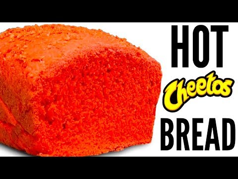 FLAMIN' HOT CHEETOS BREAD DIY | How To Make It!