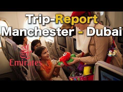 Manchester To Dubai | Emirates A380 TripReport