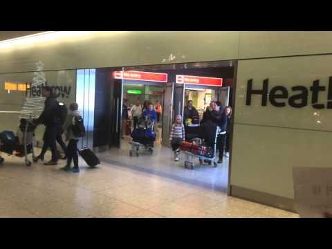 Heathrow T2 Arrivals duty free shopping - or not shopping?