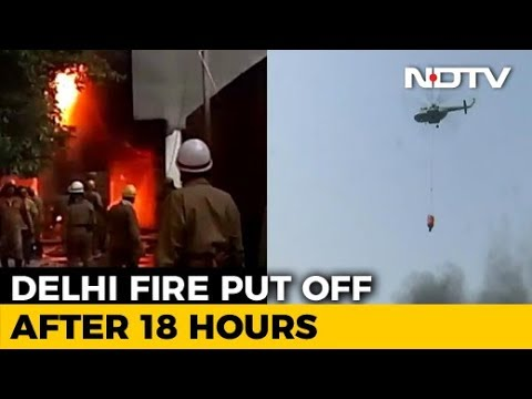 Delhi's Malviya Nagar Fire Brought Under Control After 20 Hours