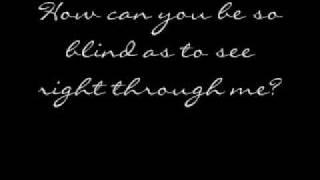 Evanescence - The Last Song I'm Wasting On You - Lyrics