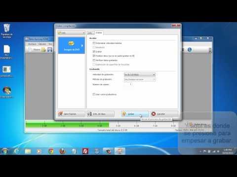 Como grabar un ISO en DVD con Nero 12