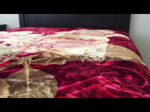 Heavy Thick Plush Velvet Korean Style Mink Blanket by JML