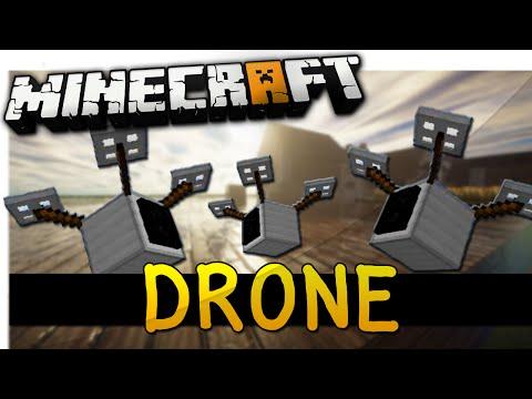 REMOTE CONTROL DRONE - Minecraft