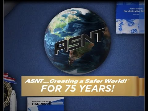 ASNT's History - 75 Years