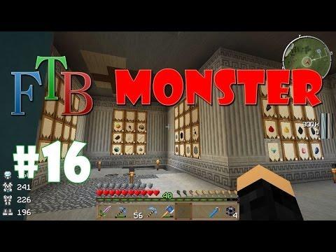 Let's play FTB Monster #16 [FR HD] : Les barrels de JABBA