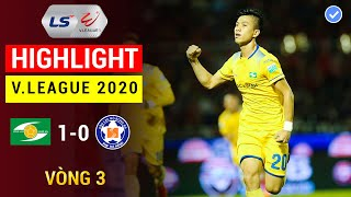 Highlight 4K | Sông Lam Nghệ An - SHB Đà Nẵng | V.League 2020 | Văn Đức Ghi Bàn Thắng Quyết Định