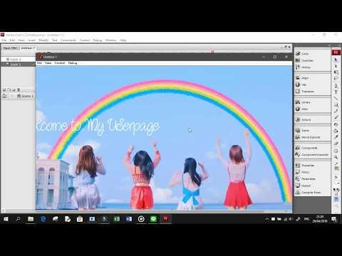 Adobe Flash CS3 Tutorial   Simple Banner for Web
