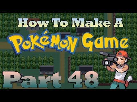 How To Make a Pokemon Game in RPG Maker - Part 48: Title Screens
