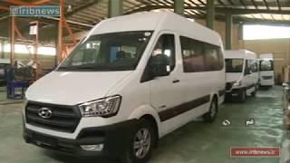Iran Soroush Diesel Mabna co. made Hyundai light truck & minibus كاميون سبك و ميني بوس هيونداي ايران