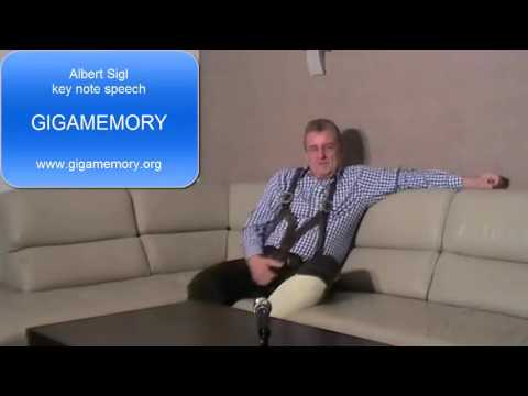 Keynote speech: Gigamemory - Memory training