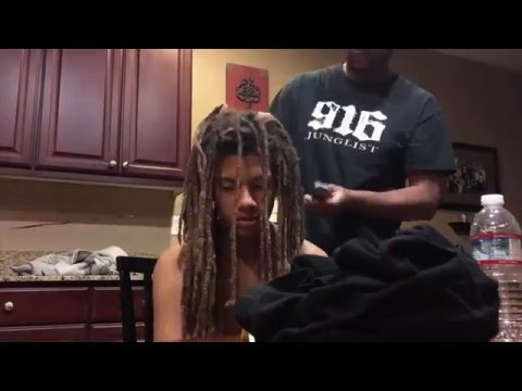 Mom Reacts to Teen Cutting off Dreads after 9 Years