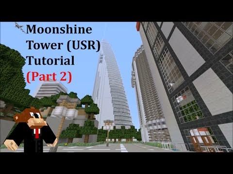 Minecraft: Modern Skyscraper Tutorial #2 (Part 2)