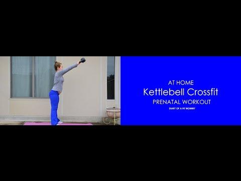 Prenatal Kettlebell Crossfit Workout