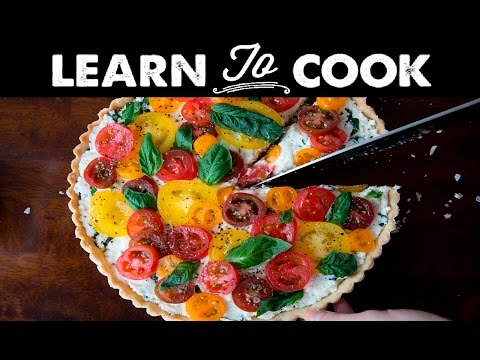 Learn To Cook: Heirloom Tomato Tart