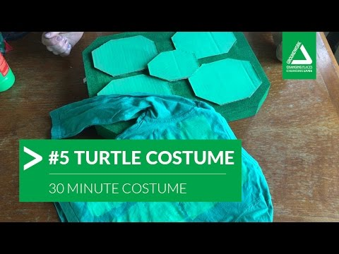 30 Minute Costume Challenge: #5 Turtle