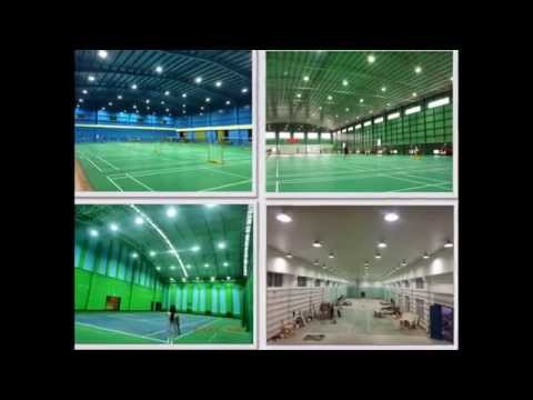 XPES Badminton Court Lighting Design