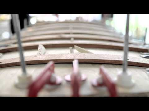 Arbo Surfboards Workshop. How to make your own Hollow Wooden Surfboard
