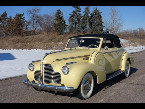 1940 BUICK SPECIAL SERIES 46 C CONVERTIBLE COUPE