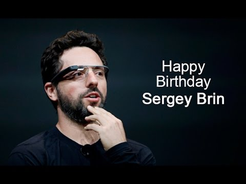 We wish SergeyBrin, Cofounder @google a fabulous & funfilled Happy Birthday with #VideoGreeting