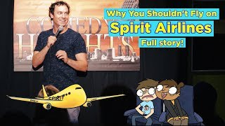 Brent Pella - Spirit Airlines (FULL STORY) (Stand-Up Comedy)