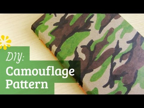 DIY Camouflage Pattern | Sea Lemon